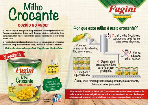 Vegetais Crocante