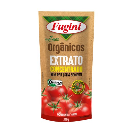 Organic Tomato Extract stand up pouch 340g