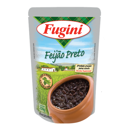 Black beans FUGINI stand up pouch 250g