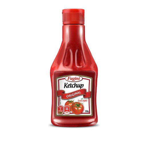 Traditional ketchup FUGINI bottle 200g