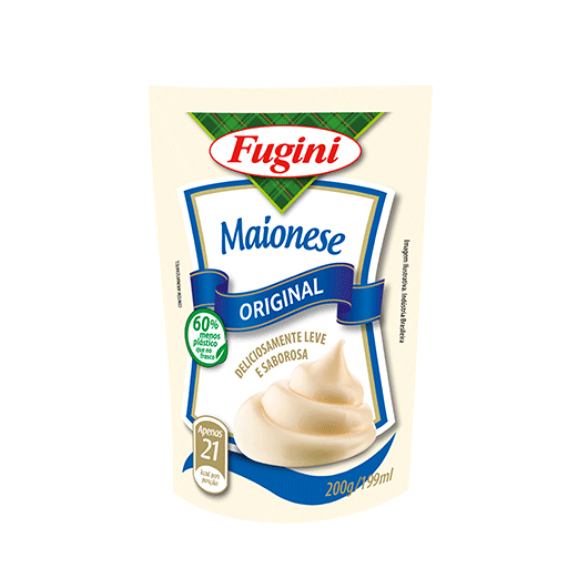 Traditional mayonnaise FUGINI stand up pouch 200g