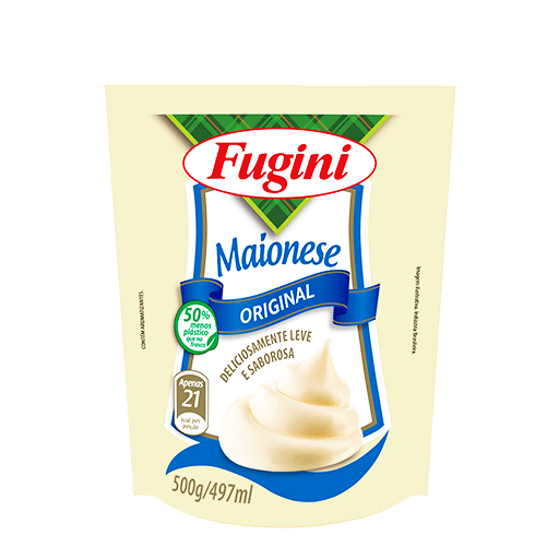 Traditional mayonnaise FUGINI stand up pouch 500g