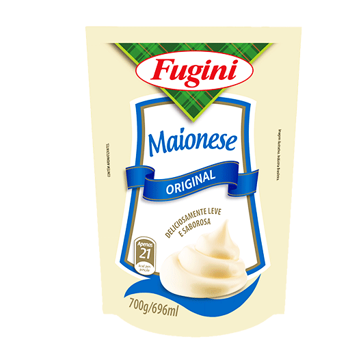 Traditional mayonnaise FUGINI stand up pouch  700g