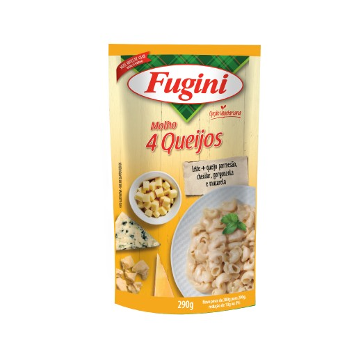 4 cheese sauce FUGINI stand up pouch 290g