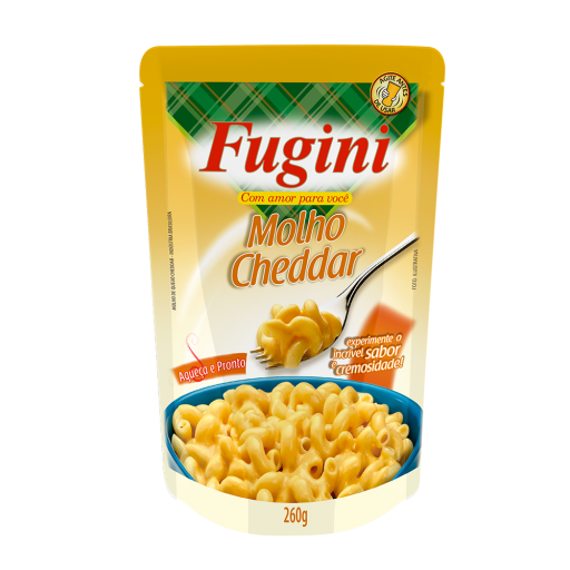 Cheddar sauce FUGINI stand up pouch 260g