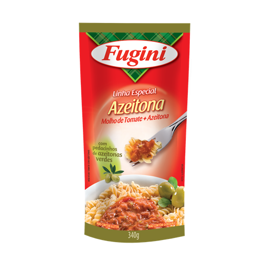 Tomato sauce (with olives) stand up pouch 340g