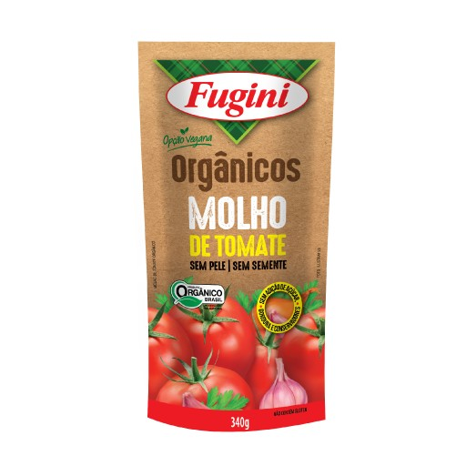 Organic tomato sauce FUGINI stand up pouch 340g