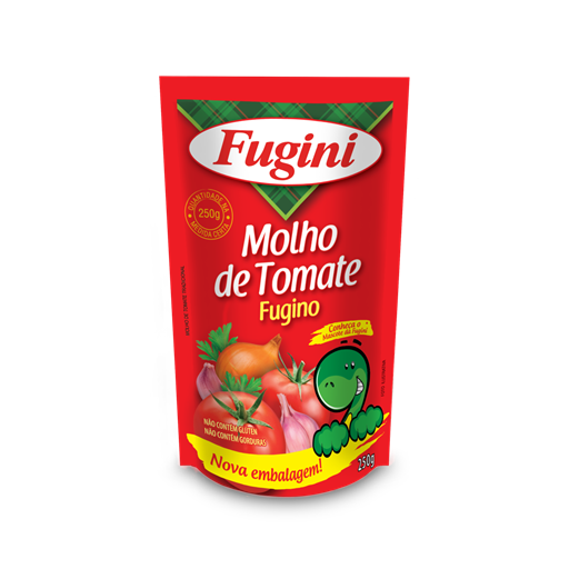 Traditional tomato sauce FUGINI stand up pouch  250g