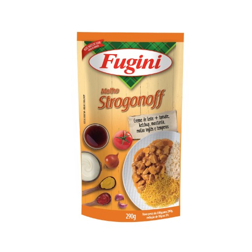 Stroganoff sauce FUGINI stand up pouch 290g