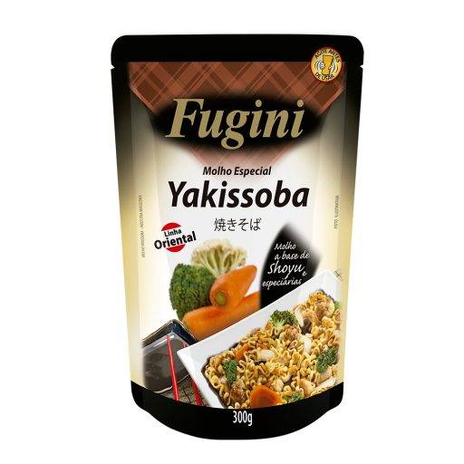 Yakisoba sauce FUGINI stand up pouch 300g