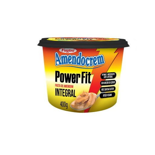 Amendocrem Peanut butter Power Fit FUGINI 400g