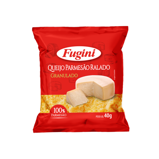Granulated parmesan cheese sachet 40g